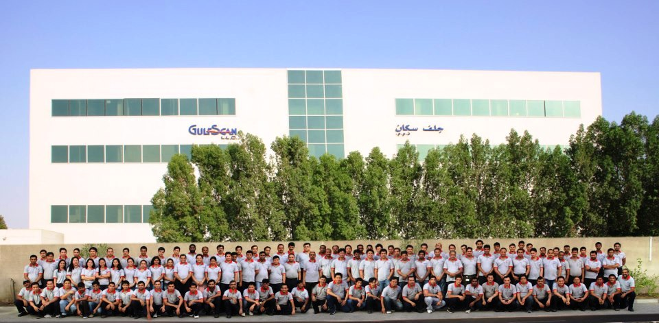 GulfScan's team and offices