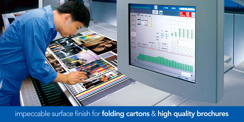 Folding Cartons & High Quality Brochures